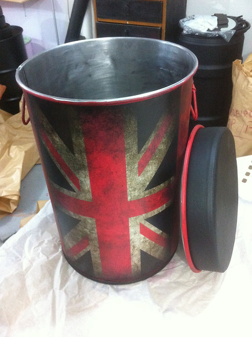 Tonel Decorativo M Reino Unido - Puff