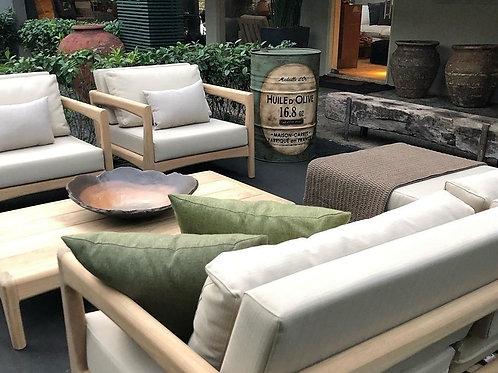 Barril decoração Huile D´ Olive - Tampa removível, sem alças - G