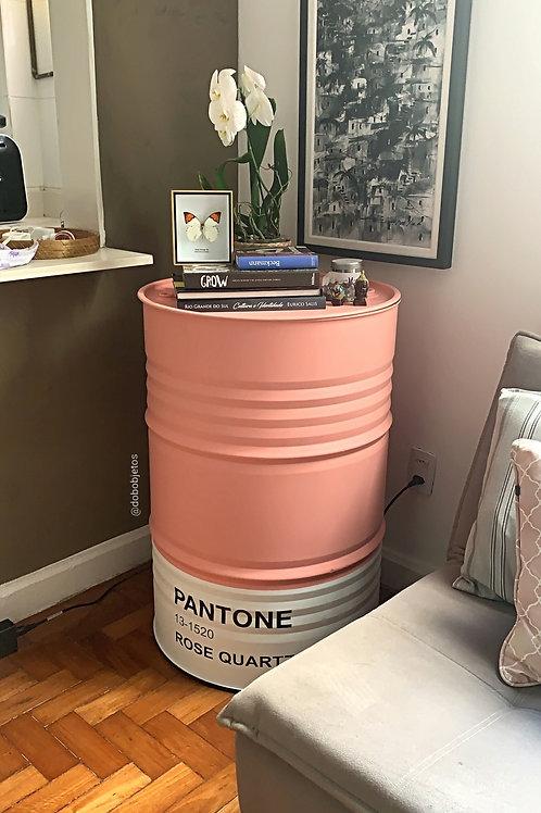 Tonel decorado G Pantone Rose Quartz