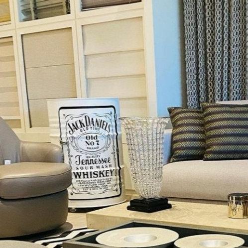 Tambor Armário Branco Jack Daniels