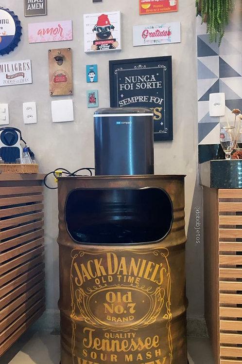 Lixeira G Jack Daniels -Aço Corten