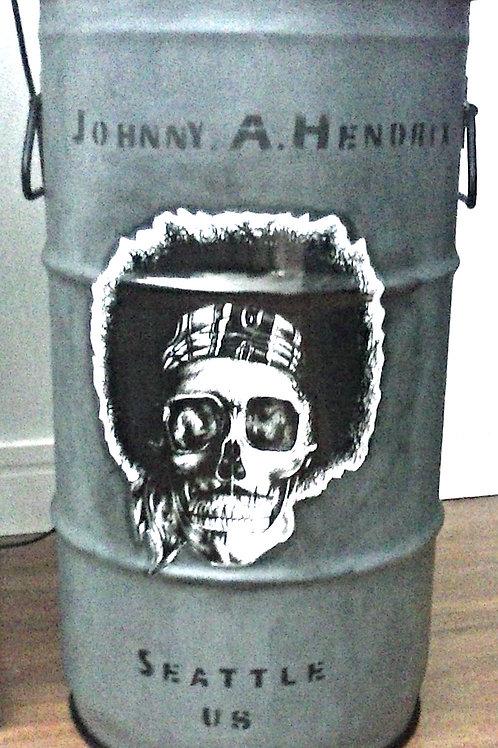 Hendrix  - Tampa destacal, com alças - P