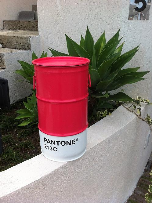 Tambor decorativo Pantone 213 C  Tamanho P