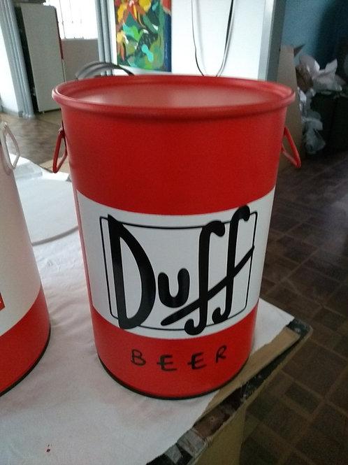 Tambor de decoração Duff  M com alças
