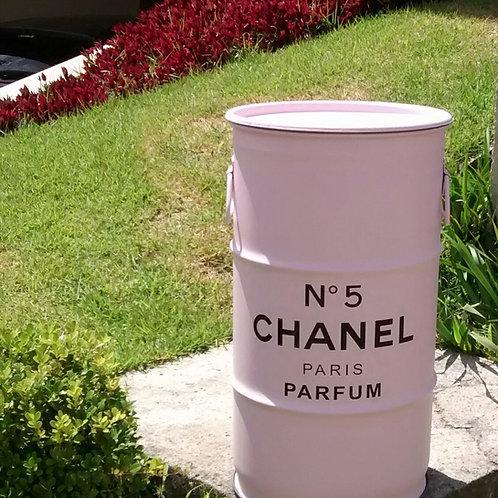 Barril Decorativo Chanel  Rosa - P