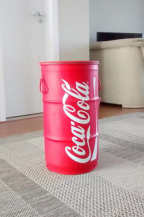 Tambor de decoração Pequeno - Coca-Cola