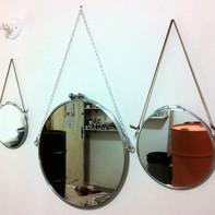 Espelhos de aros de tambor 03 tamanhos