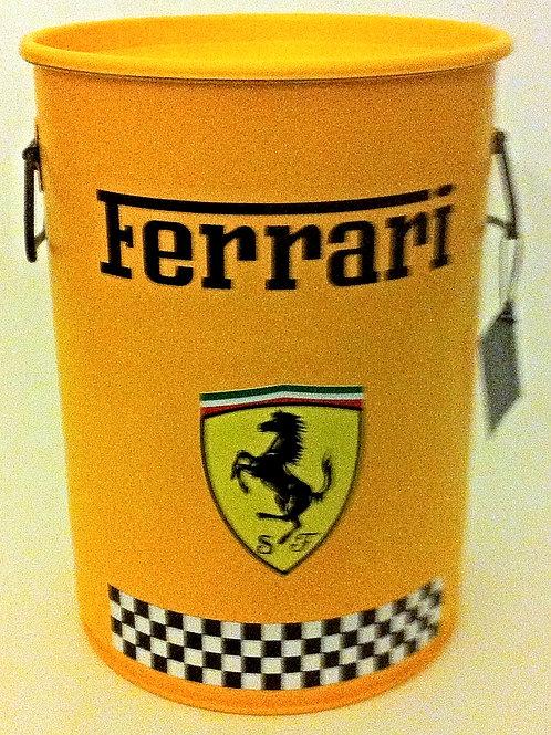 Ferrari (Amarelo) -Tampa removível c/ alças- M