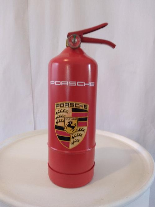 Extintor Decorado Porsche