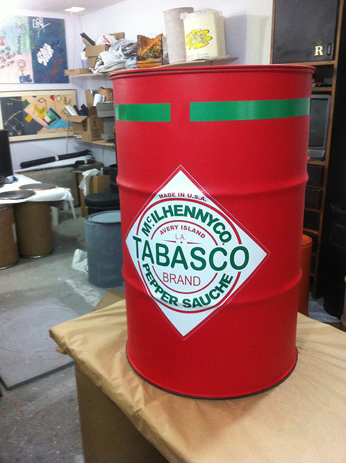 Tambor de decoração Tabasco G