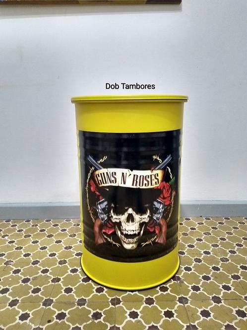 Tambor Guns N Roses - M frisado