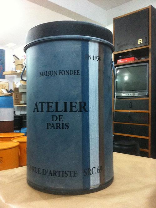 Tonel de decoração Atelier de Paris PUFF