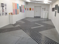 Tape on a Gallery Floor