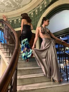 Models- Monica Dunkley and Francassca Morton