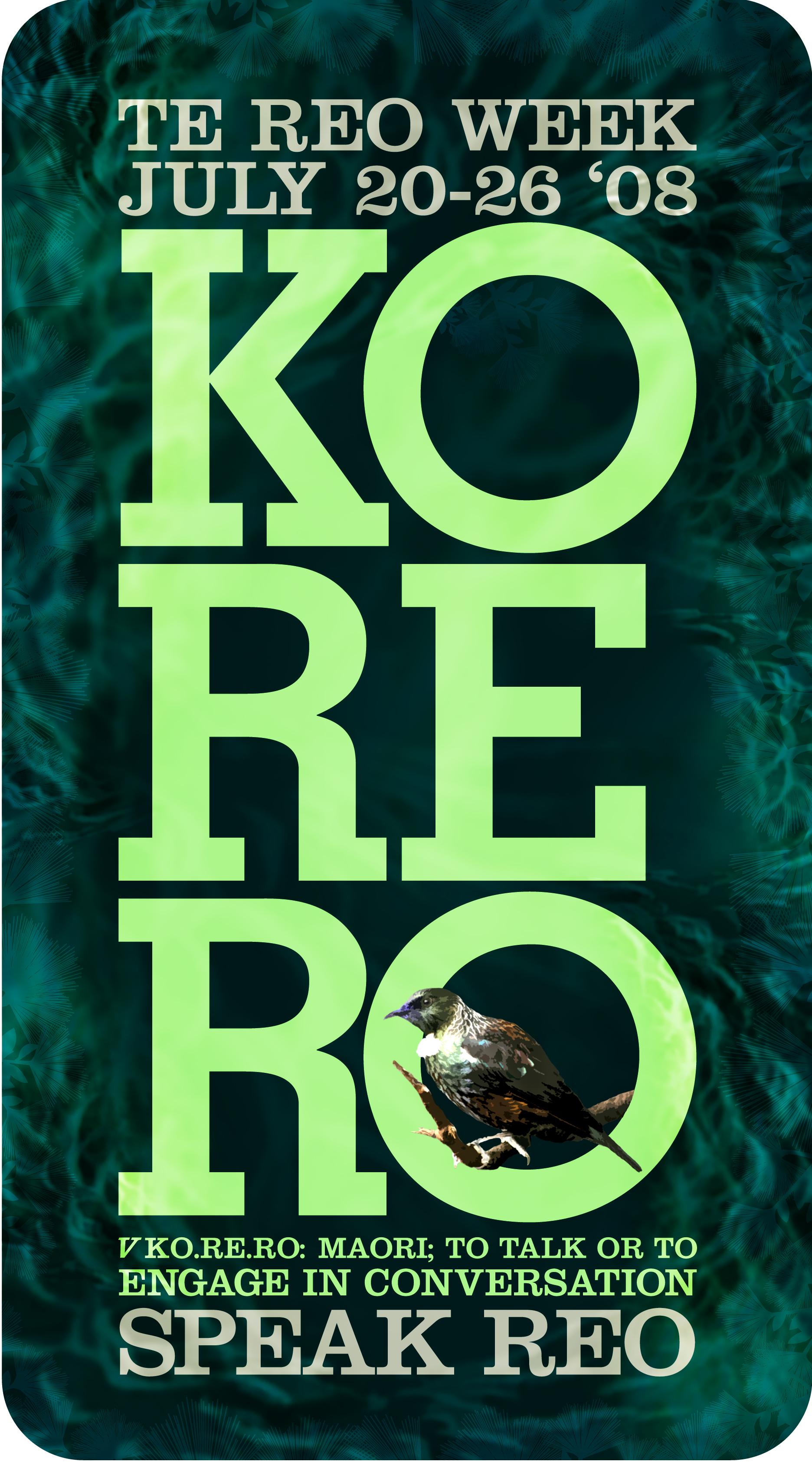 Korero Poster