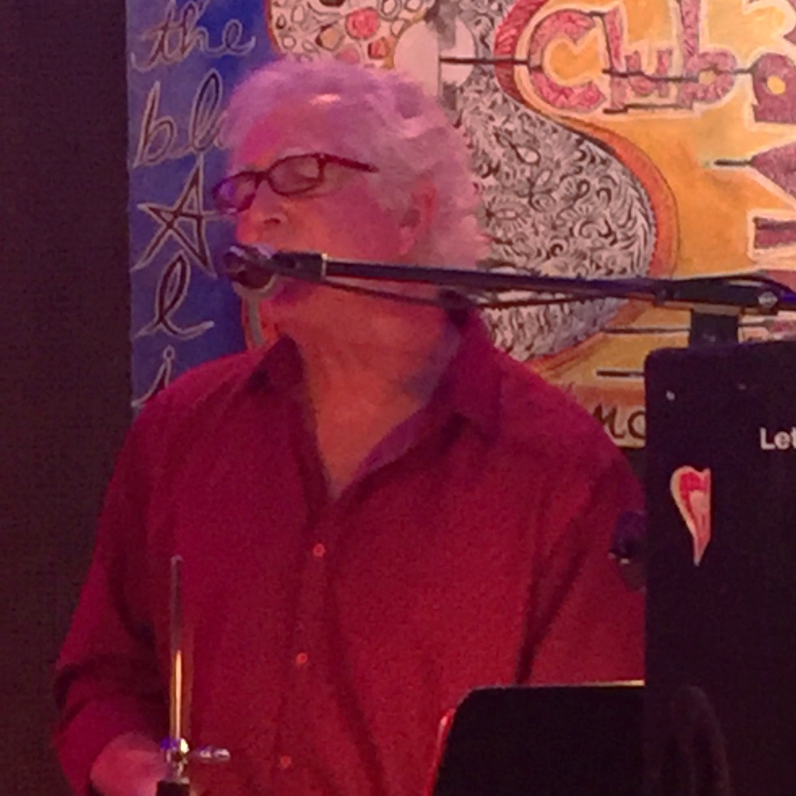Mark Blair, drums/singer