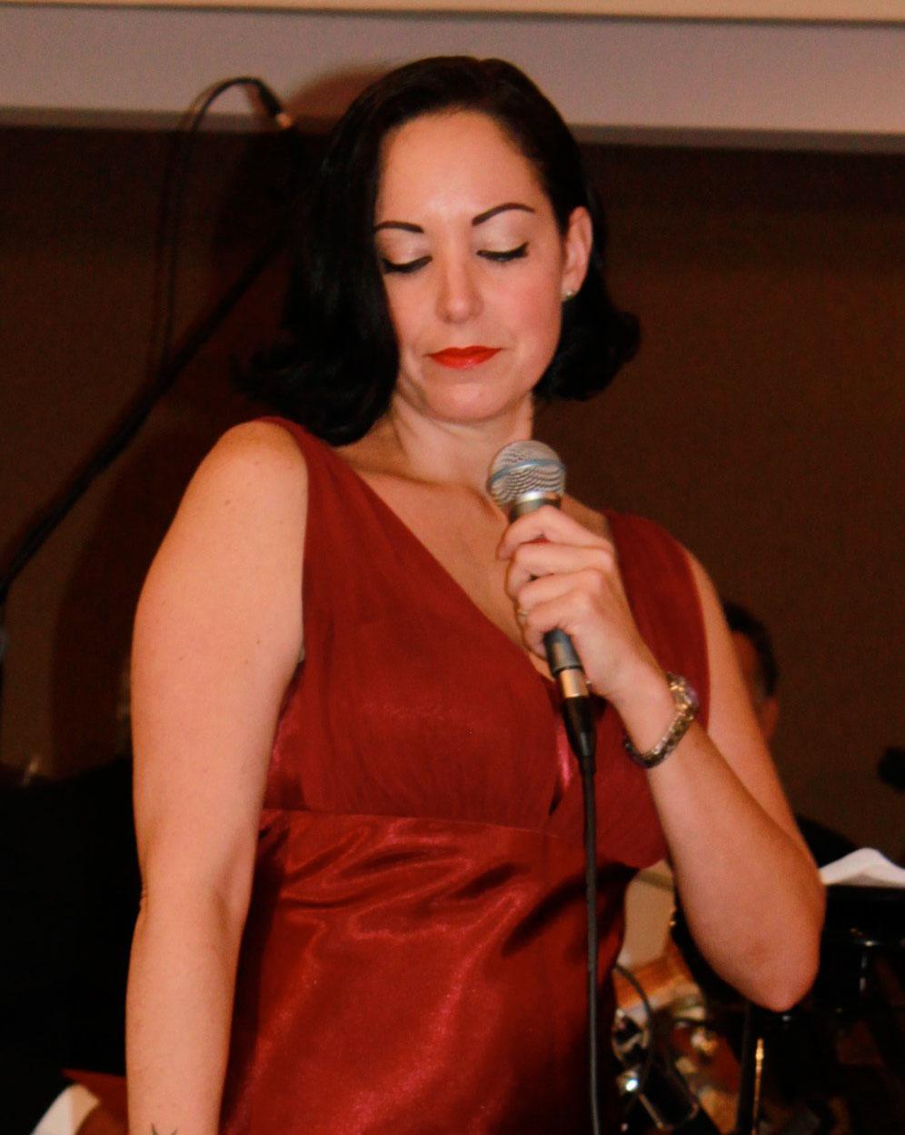 Singer Danielle Natividad