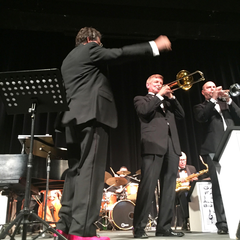 Gary conducting