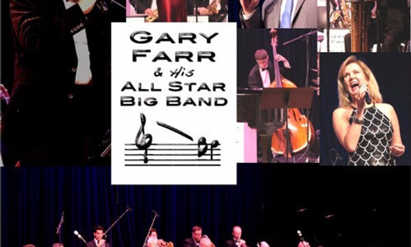Gary Farr & His All Star Big Band package of 2 CD's Live in Concert