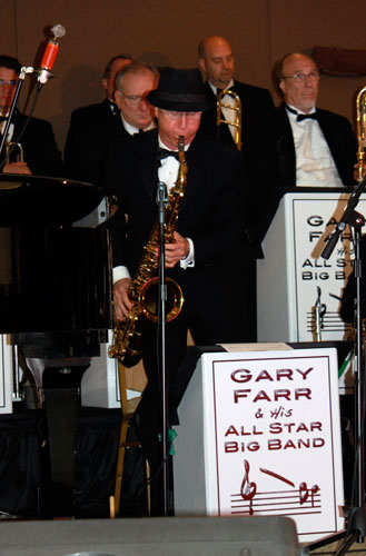 Billy Ross on Tenor Sax