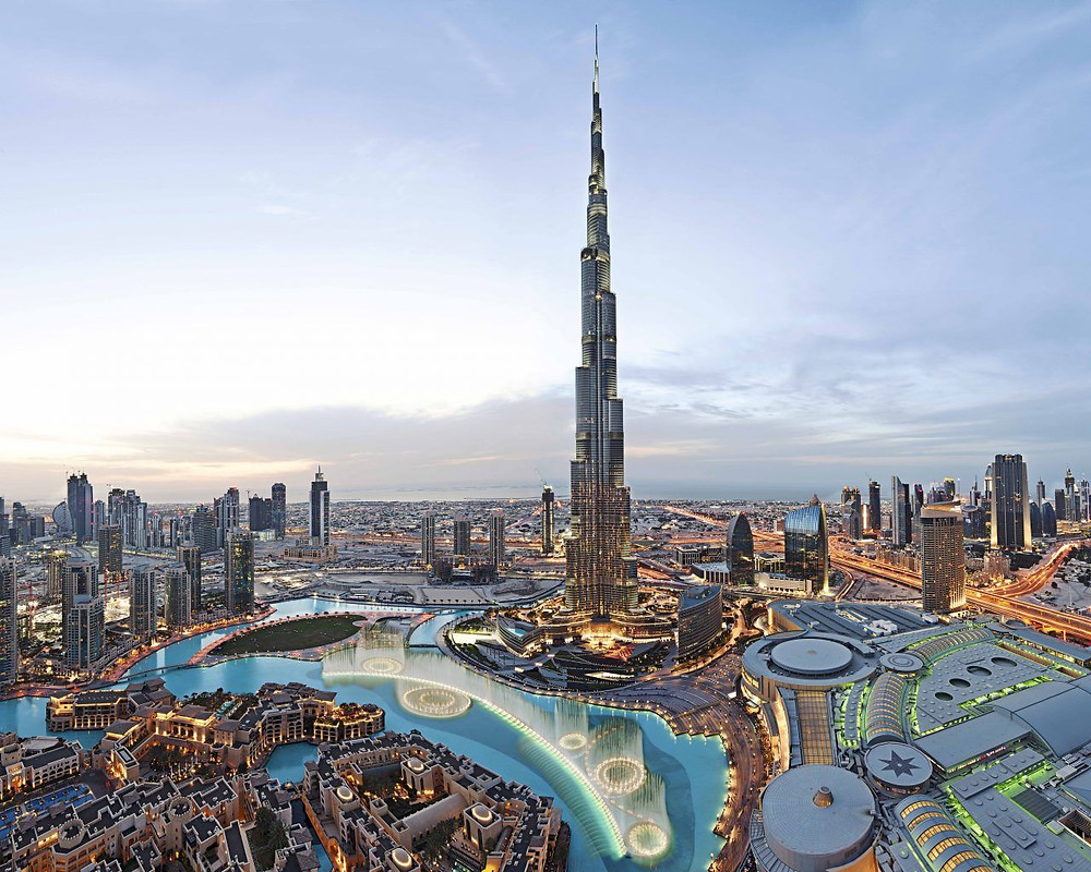 The Mesmerising view of Dubai Skyline from 124th floor of Burj Khalifa with Bafna Holidays