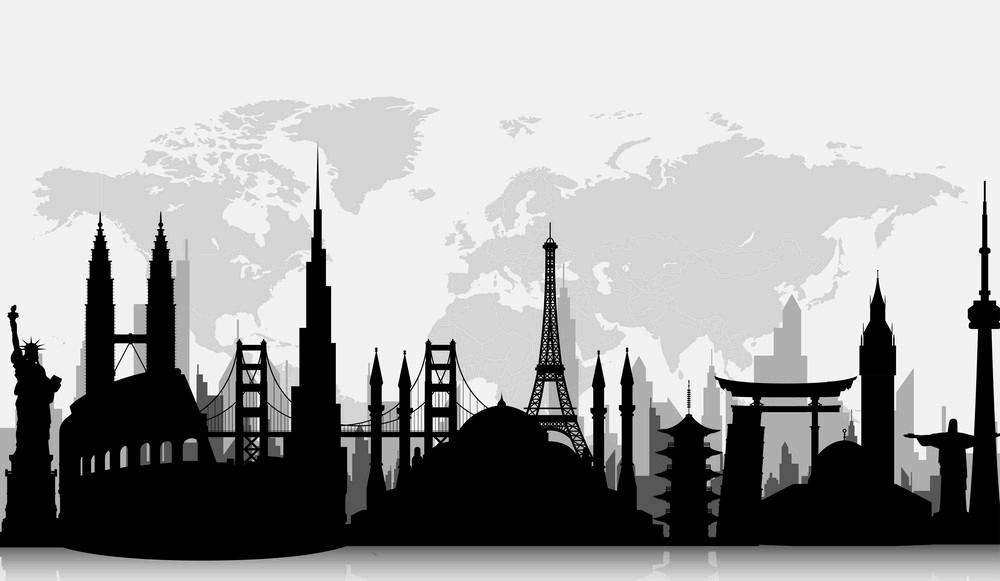 silhouettes-famous-world-landmarks-vecto