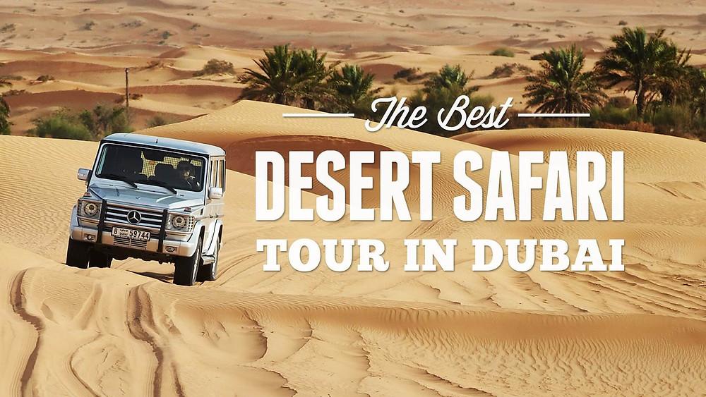 Enjoy the Desert Safari with Bafna Holidays