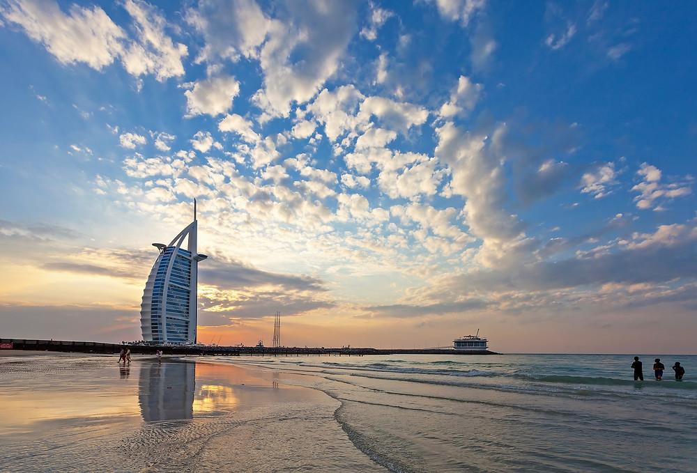 The jumeirah beach is Dubai's most posh beaches.