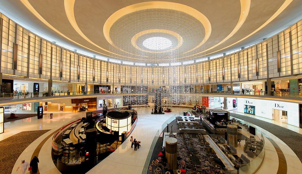 Shop at UAE's largest mall with Bafna Holidays.