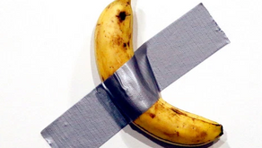Is it Art:  Banana Taped To Wall