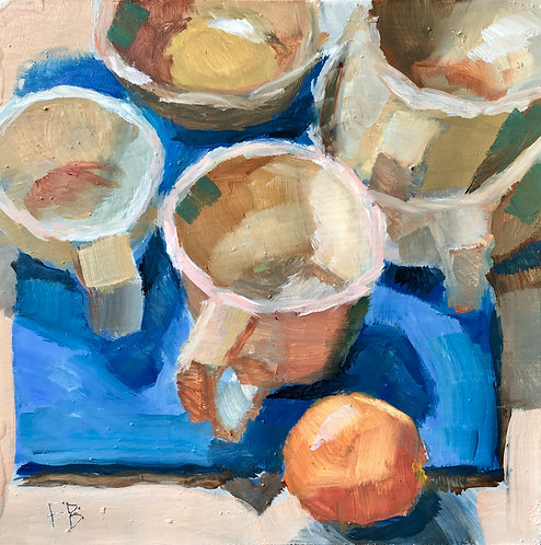 Cups and Orange
