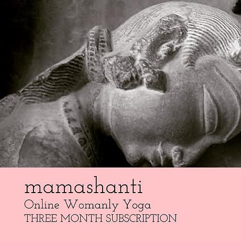 Mamashanti Online Womanly Yoga