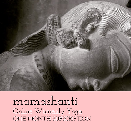 Mamashanti Online Womanly Yoga