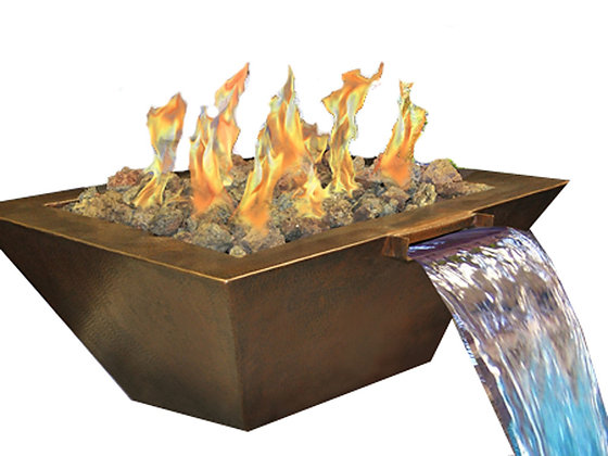 Sedona: Copper Fire & Water Bowl (Complete Bowl)