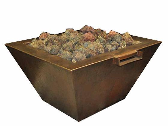 Sierra: Copper Fire & Water Bowl (Complete Bowl)