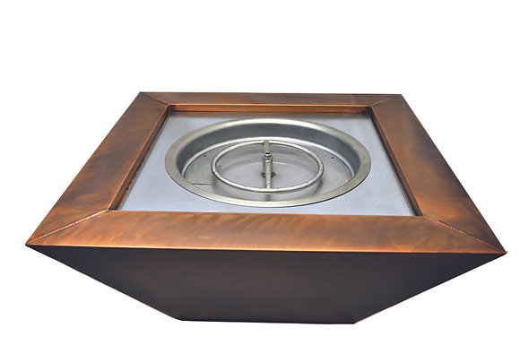 Sierra: Copper Fire & Water Bowl (Complete Bowl)