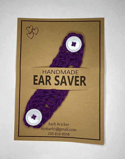 Purple Ear Saver - Adult