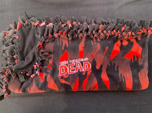 The Walking Dead Double Knotted Fleece Blanket