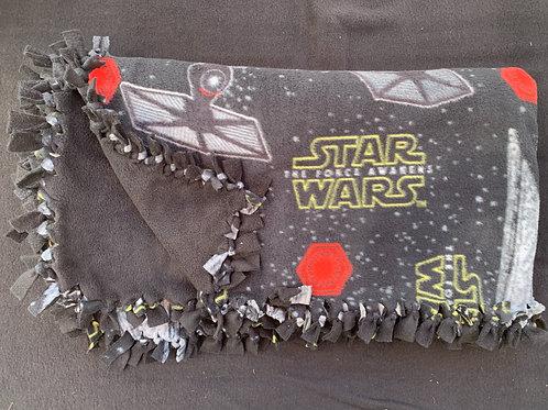 Star Wars Double Knotted Fleece Blanket