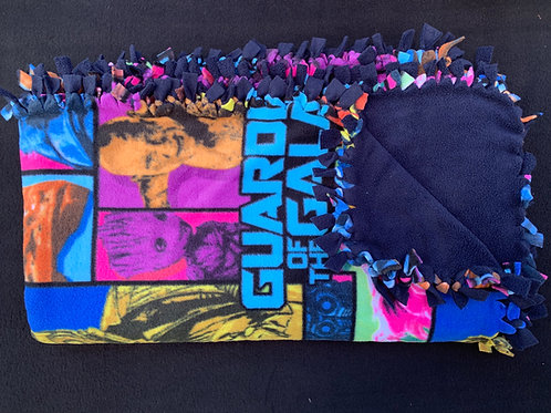 Guardians of The Galaxy Double Knotted Fleece Blanket