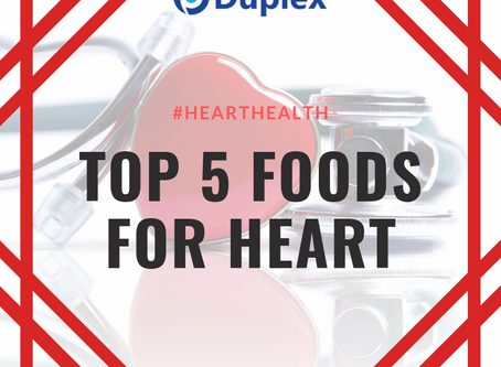 Top 5 Heart Foods - Easily available