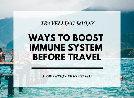 Travelling soon? Avoid getting sick overseas.