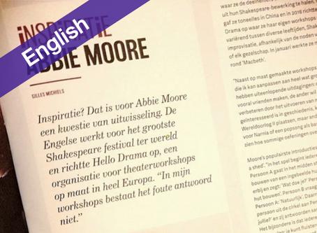 Published in Opendoek's Magazine