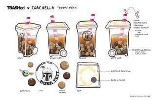 "TRASHed Coachella 2020 - Competition Entry ""Boba Fett"""