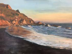 Muir Beach at Sunset