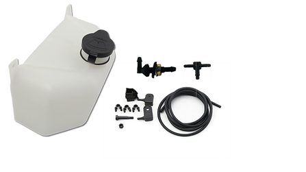 Windshield washer components for boats