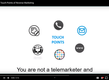 How to be Successful at Reverse Marketing Using Touchpoints
