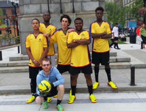 Great letter from Street Soccer Canada -we were so pleased to be able to help them!