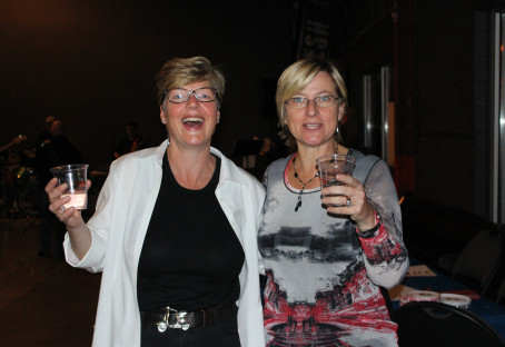 Good times at the Second Kicks Fundraiser at Amsterdam Brewery in Leaside!