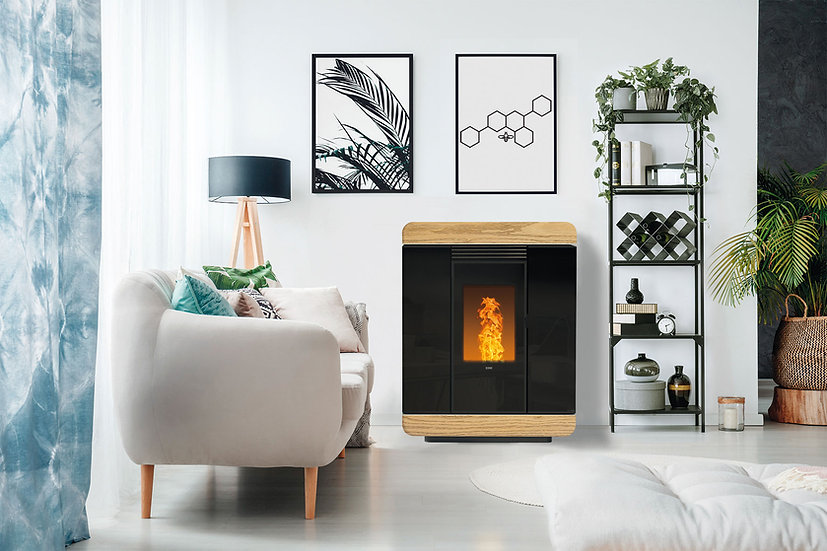 Klover Diva Air Wood GAS 8,9kW